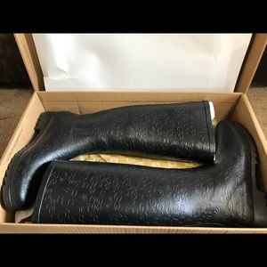 Ugg Rain Boots size 8 - Wiltshire Logo Tall Boot
